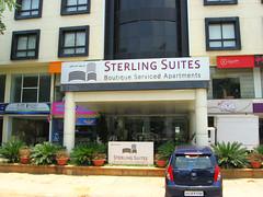 Sterling Suites Service Apartments (ShambLady recovering and back soon) Tags: street food india streets shop shopping restaurant bangalore streetlife chun sterling karnataka wah pajero karti