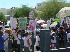 Reject and Repeal SB 1070 (xomiele) Tags: arizona news phoenix march protest protesta blogged immigration protesters debate marcha reform 1070 protestas sb1070 altoarizona xomiele