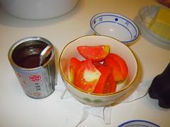 沙茶與蕃茄