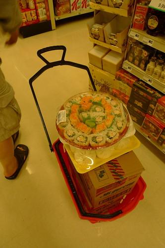 路人的購物籃