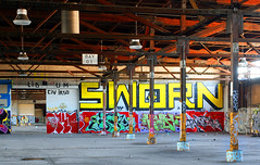 Sworn (funkandjazz) Tags: california graffiti um eastbay lib civ kady ftl idc sworn ikso kefer sworne