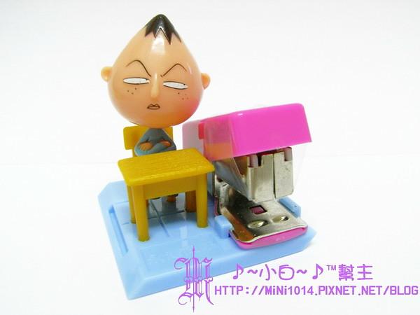 【櫻桃小丸子.好學文具社】永澤 訂書機