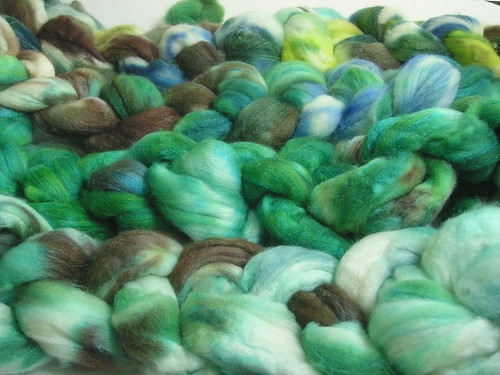 Oven dyed wool (Puck colors)