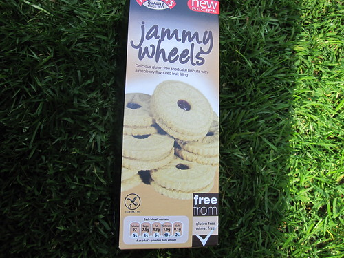 Jammy Wheels Gluten Free Vegan Cookies