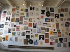 Flocked: A wall paper project (nick_howard) Tags: art minneapolis drawings prints flocked artawhirl
