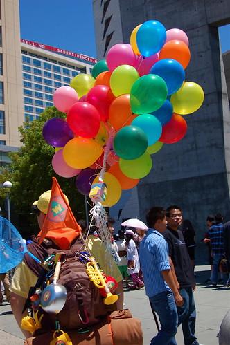 Fanime Con 2010: Up Balloon