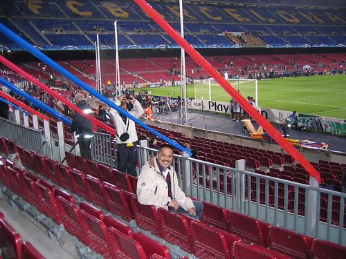 Zitplaatsen Camp Nou (cat. 2), de heer Ellert