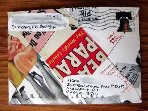 vintage ad envelope
