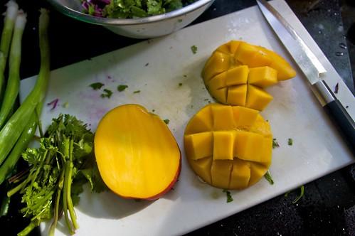 mango cubing