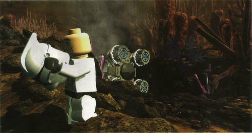 star wars ahsoka and rex. A screen shot from Lego Star