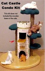 Cat Castle by Alice Zinn