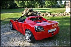 Opel Speedster 2.2i 147ch (Julien Huet Photography (www.julien-huet.com)) Tags: auto red cars car photoshop canon rouge photography eos 22 automobile ride voiture adobe shooting autos 147 automobiles calypso opel speedster voitures cs3 cs4 atmo cs5 22i 450d worldcars xtamyr 147ch