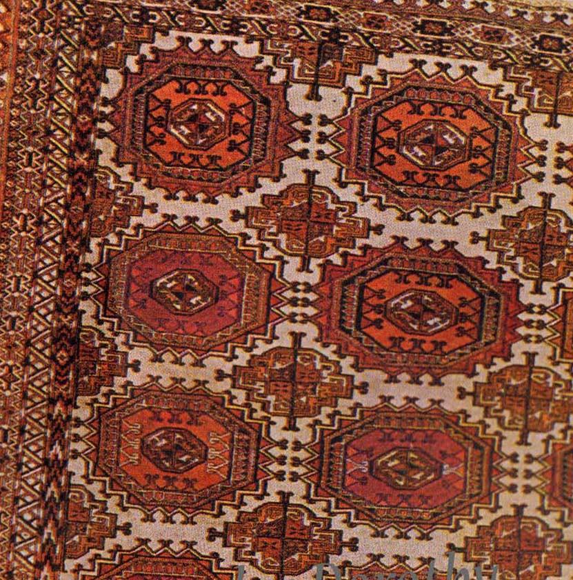 Tekke Bokhara Rug (detail)