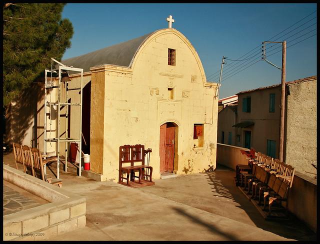Agios Georgios chapel, Menoiko