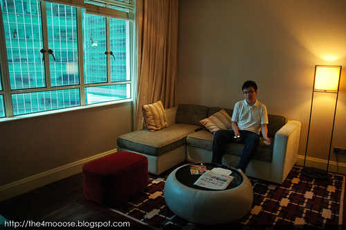 Ascott Raffles Place - Living Room