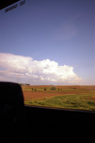 Iowa out the window