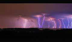 lightning (Andrew Barshinger Photography) Tags: light storm color night clouds explore lightning thunder