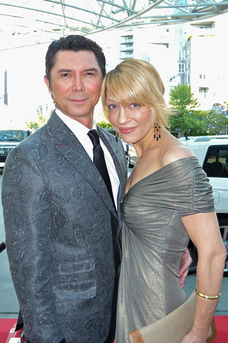 Lou Diamond Phillips at the Leo Awards