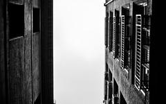 Looking Up Melbourne Alleyway