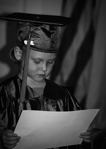 """reading her """"diploma"""""""