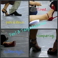 foto scarpe tango piedi