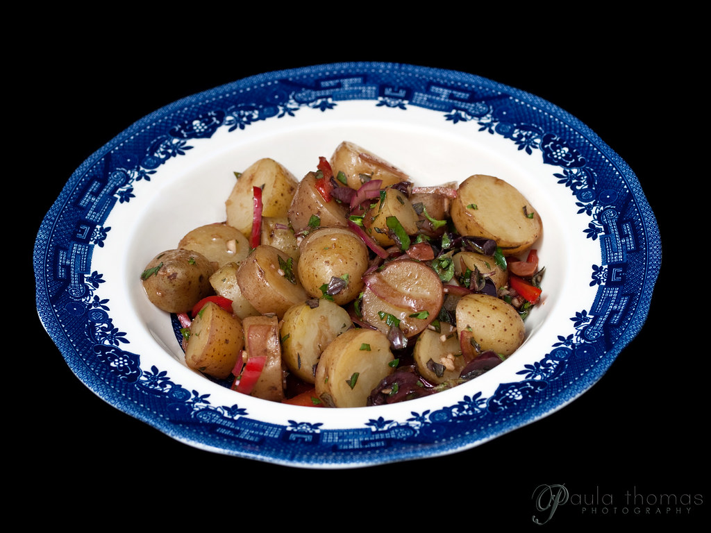 Bowl of Balsamic Potato Salad