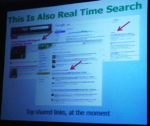 what else is real time search slide