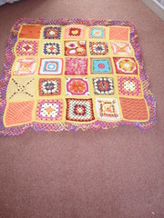 Please 'add note' to your Square Ladies! SIBOL 13. (Sun themed Blanket 5) -  'Sun Reflection' - named by Salma.