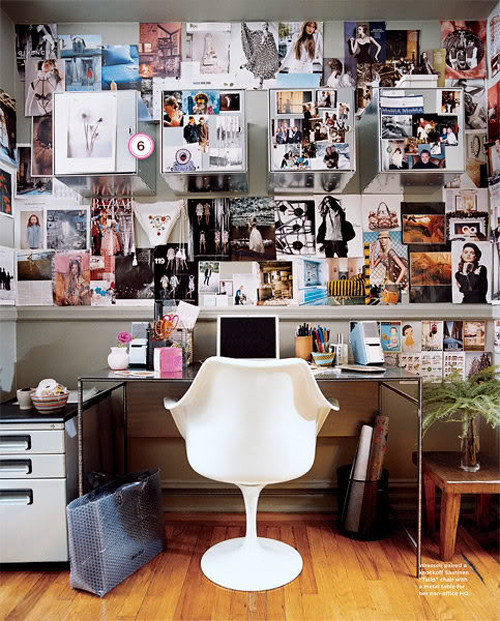 Inspiration wall the style files for Inspiring office spaces
