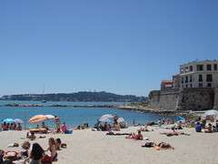 Beach at Antibes
