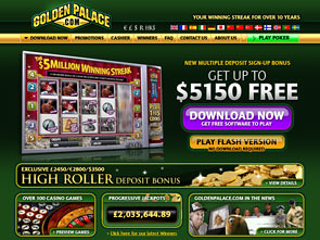 Golden Palace Casino Home