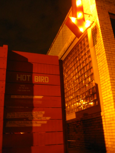 HOT BIRD - entrance
