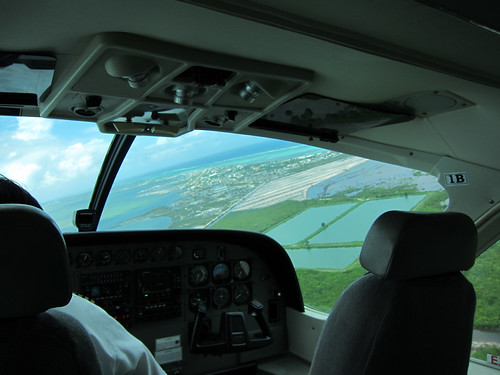 Flying to Ambergris Caye