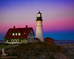 Portland Head Topazed (Michael Pancier Photography) Tags: ocean pink blue autumn sunset sea lighthouse seascape portland landscape lights rocks lighthouses purple maine cliffs 2008 atlanticocean topaz capeelizabeth portlandhead capeelizabethmaine portlandheadlighthouse michaelpancierphotography wwwmichaelpancierphotographycom seorcohiba newenglahd