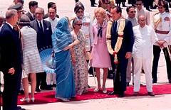 President Nixon visits India