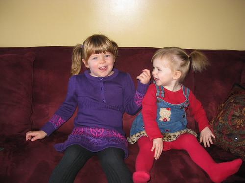 5 and 2 -- Birthday Girls