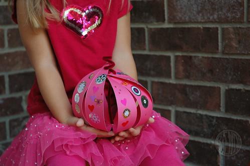 Pink Paper Pumpkin by Brenda Ponnay for Alphamom.com