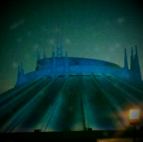 Space mountain at halloween