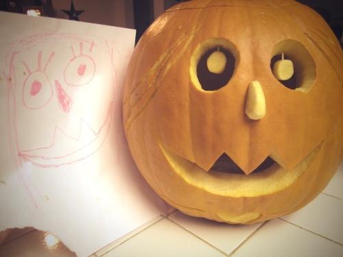 Ruthie's pumpkin