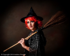 The Red Witch (andy_57) Tags: orange halloween costume broomstick oksana d300 alienbees redwitch 2470mmf28g ukrainianbeauty keeperdozen10