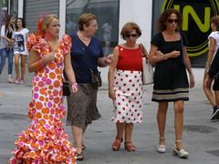 Feria de Pedro Romero (magro_kr) Tags: street espaa woman color colour andaluca spain colorful fiesta feria andalucia espana ronda colourful andalusia flamenco kolor hiszpania kobieta ulica kolorowy andaluzja