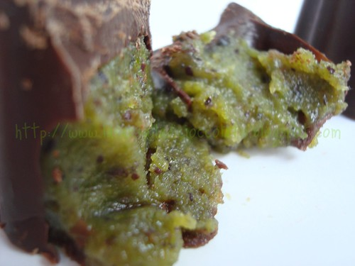 Cioccolatini con Nutella di Pistacchio