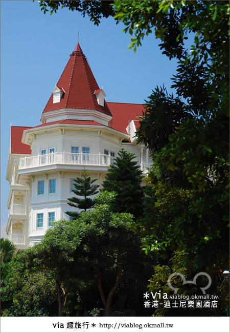 【香港住宿】跟著via玩香港(4)~迪士尼樂園酒店(外觀、房間篇)14