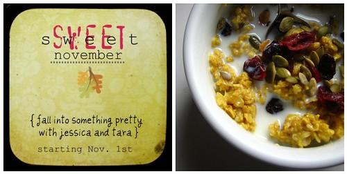 sweet {sweet} november: day 2
