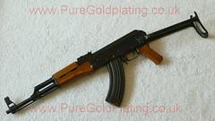 AK-47 Assault Rifle h (PureGoldPlating) Tags: goldplated ak47 goldplating assaultrifle goldplatedgun goldplatedak