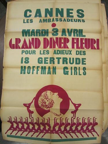 Gertrude Hoffman Poster