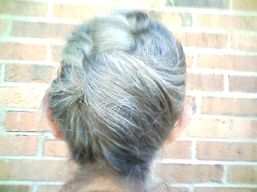 Bernie - Back View - Twist Hairstyle
