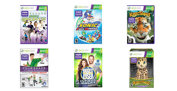 Kinect for Xbox 360 buy 1, get 1 2nd 50% deal at toysrus.com