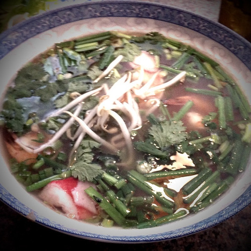 Shrimp and Crab Pho from Vietnamese Bistro