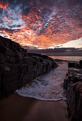 """Sunset Masterpiece, Noosa, QLD (cristiancoser) Tags: landscape ocean waves sunset stunning spectacular landscapephotography flickr flickrtoday natgeo natgeoadventure australia breathtaking amazing explore"